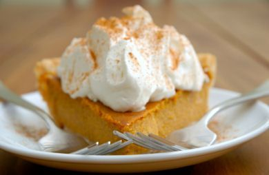 No-Bake Layered Pumpkin Pie