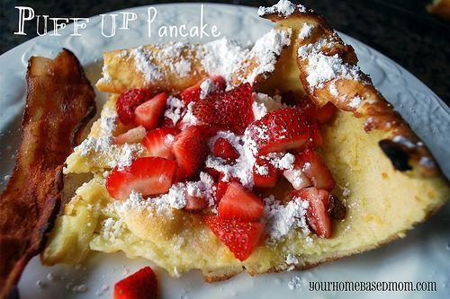 Puff-up Pancake
