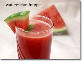 Watermelon Frappe