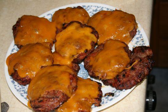 Lean Turkey & Beef Hamburgers