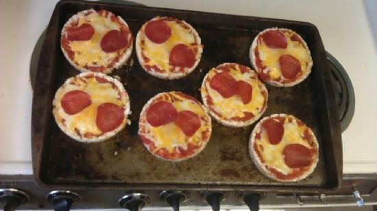 Rice cake Pizza