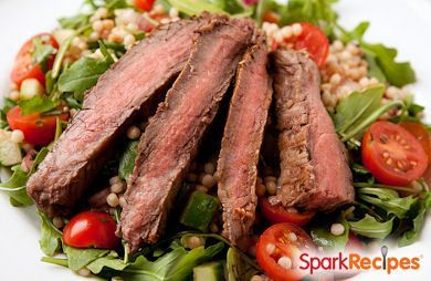 Cilantro-Lime Flank Steak Salad