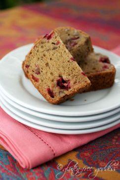 Gluten Free Cranberry Bread - Karina's Recipe | SparkRecipes