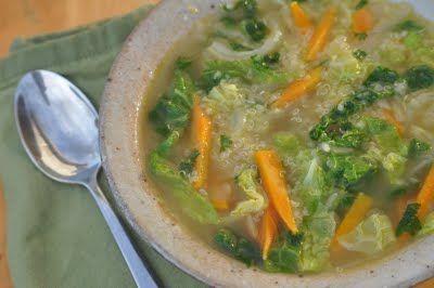 Healing Quinoa Cabbage Soup