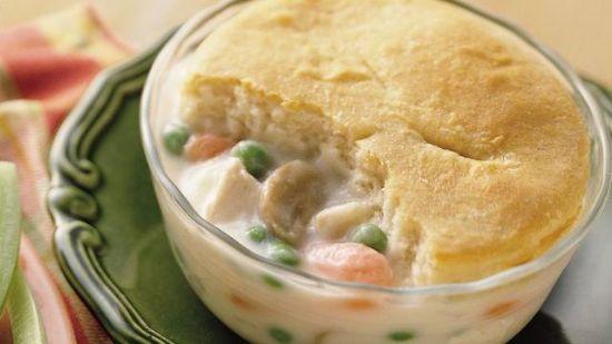 Homemade Chicken Pot Pies