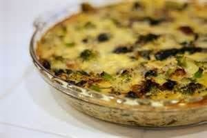 Quiche - Broccoli