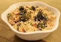 Roasted Broccoli Couscous Salad