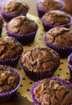 Banana Chocolate Cupcakes