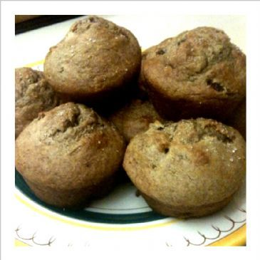 Gluten Free Banana Date Muffins