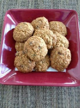 Hemp Oatmeal Raisin Cookies