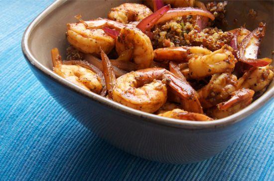 Zesty Shrimp and Quinoa | Greatist