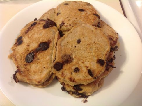 Gluten Free Chocolate Chip Panckaes