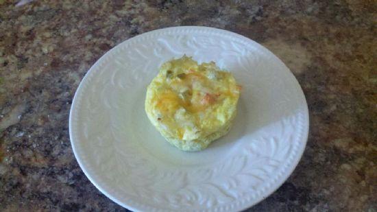 Muffin Tin Bird Nest Scamble