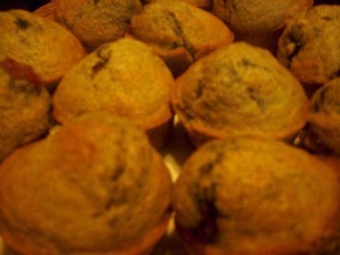 Whole-Wheat Lemon Raspberry Muffins