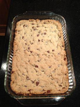cream cheese chocolate chip cookie bars
