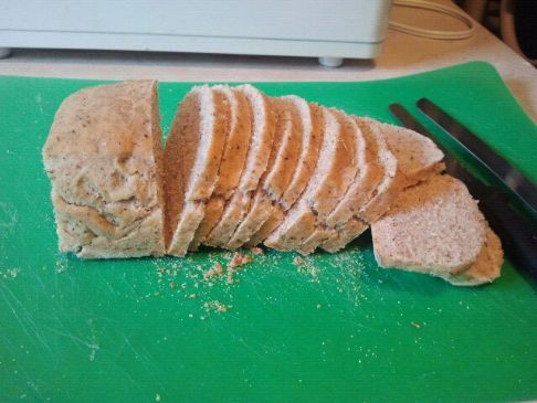 Rosemary and Basil Wheat Bread