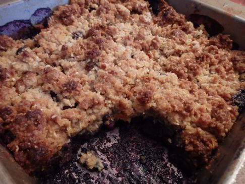 Blueberry Crisp (grain Free)