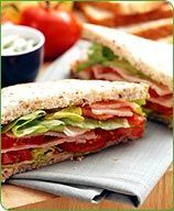 Weight Watchers Southwestern Turkey Sandwich