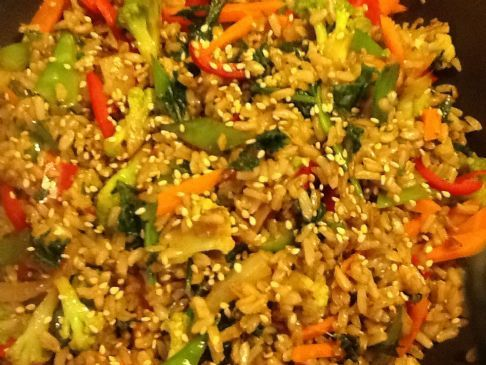 Brow rice & Vegetables Fried Rice