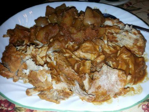 Crock Pot Pumpkin-Apple Pork