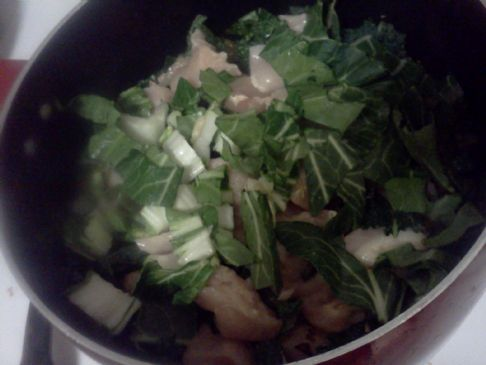 MAKEOVER: Chicken Soup with Kale  (by COUPONGOLDIE)
