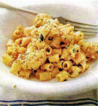 Cauliflower, Saffron & Tomato Cream Pasta