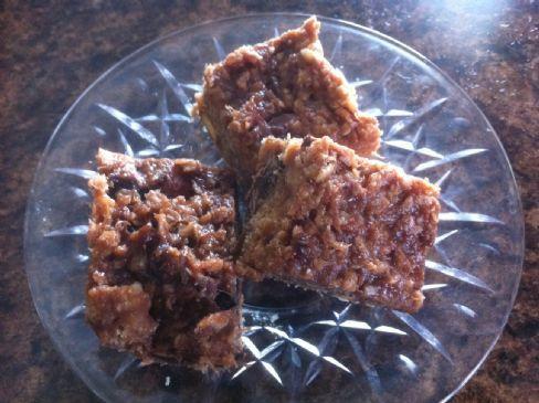 Peanut Butter and Jam Granola Bars