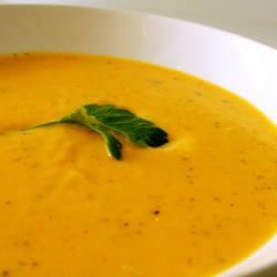 Ginger Butternut Squash Soup