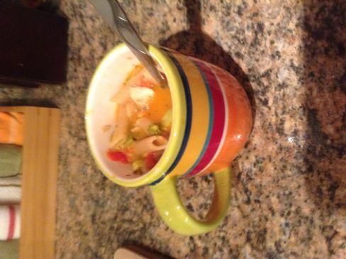 Greatest Chicken Pasta Soup