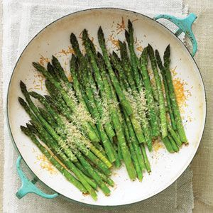 Asparagus with Parmigiano