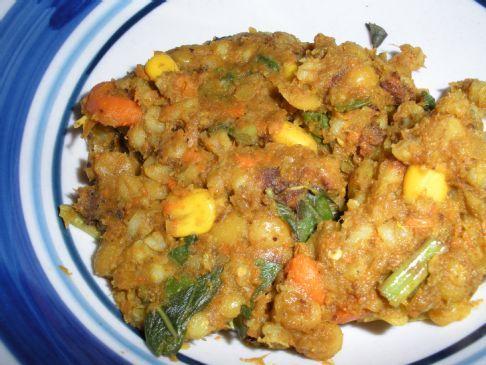 Indian-Spiced Barley Stew