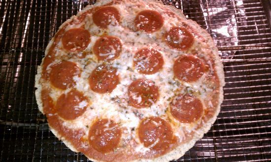 Pepperoni Tortilla Pizza