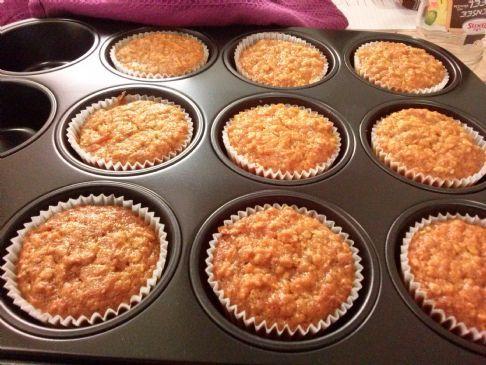 Vegan Carrot-Pumpkin Muffins