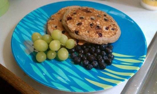 Blueberry Pancakes by the Numbers