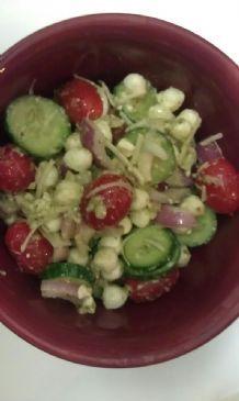 3 Cheese & pesto salad