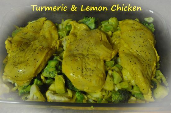 Turmeric and Lemon Chicken