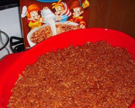 Double Chocolate Rice Krispie Treats