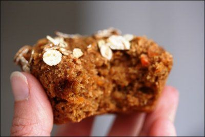 FANNETASTIC FOOD'S Whole Wheat Carrot Cake Muffins