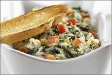 Chicken Spinach-Artichoke Dip Casserole