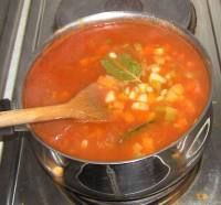 Leeks & Vegatable Soup