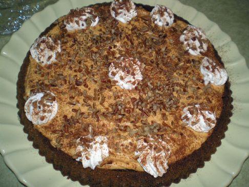 Frosty Pumpkin Gingerbread Cake