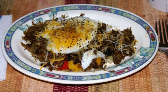 Pot Roast leftover hash