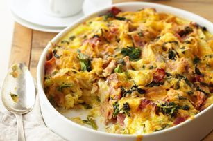 Bacon and Eggs Bake