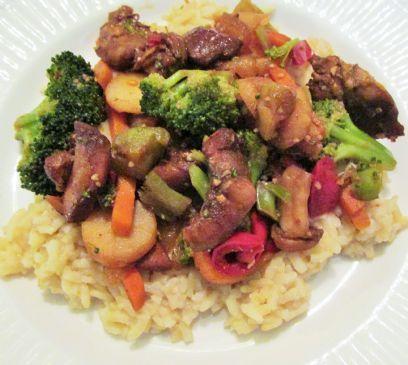 General Tso Chicken - Gluten Free Slow Cooker Recipe