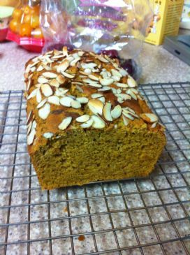 GF Pumpkin Bread