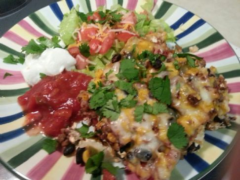 Weight Watcher's Mexican Casserol