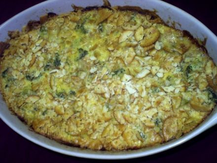 Broccoli Casserole with Cheese ** Low Carb/ Low Fat