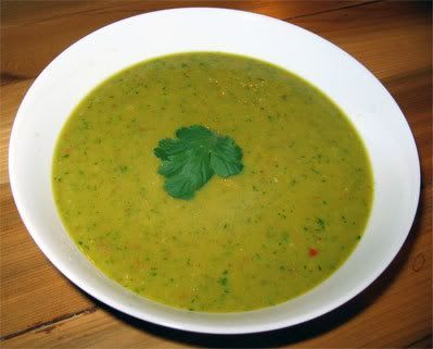 Carmella's Raw Curry Soup