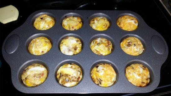 Egg Muffin with Turkey Sausage