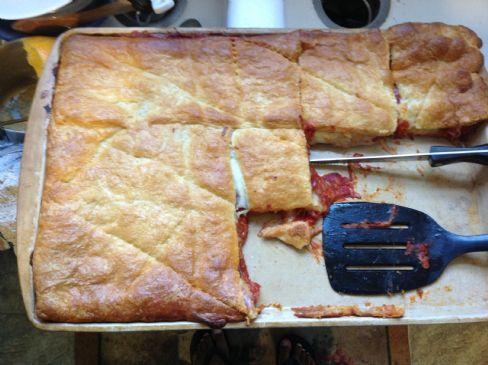 Pizza Crescent Bake